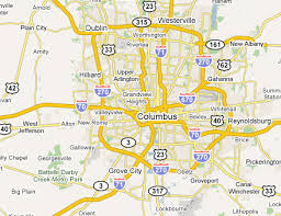map of columbus columbus metro area web design development firms on the firm