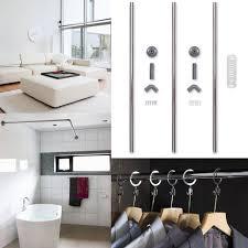 bath shower curtain rail l shaped best curtain 2017
