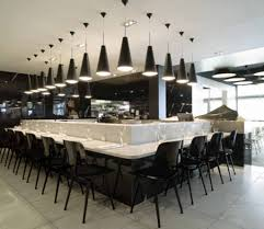 outstanding modern black and white kitchen decoration using modern