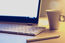 Schreibtisch Computer Kostenlose Bild Kaffeetasse Computer Schreibtisch Display