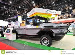 amphibious rescue vehicle st kinetics revolutionary amphibious humdinga truck for disaster