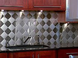 stainless steel kitchen backsplash ideas stainless steel backsplash with granite countertops zach hooper