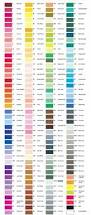 print copic color chart complete color chart color pinterest