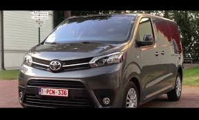 toyota 2017 usa 2017 toyota proace exterior interior and drive youtube