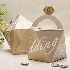 wedding favor bag blue and chagne diamond wedding favor bags ewfb143