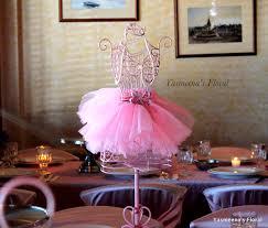 baby shower ballerina yasmeena u0027s floral ballerina tutu personalized baby shower theme