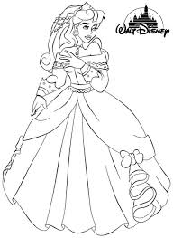 coloring pages aurora coloring pages download princess