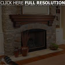 Distressed Wood Fireplace Surround Home Decor Best Wooden Fireplace Mantels Home Design Popular