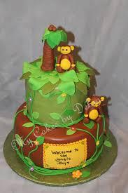 Baby Boy Monkey Theme Photo Monkey Themed Baby Shower Image