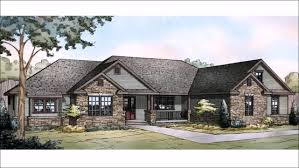 Country Home Plans With Front Porch Architecture 1950s Ranch House Plans Ranch House Plans With