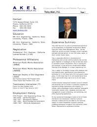 Resume Summary Examples For Software Developer Resume Civil Engineer Resume