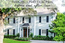 what is a colonial house final before and after tour maison de pax