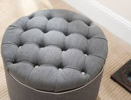 Tufted Storage Ottoman Hud8220a Ottomans Furniture By Safavieh