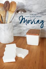 how to deep clean after moving with mr clean magic eraser