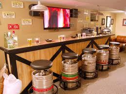pre made bars for basement home bar design