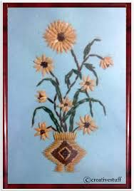 art and craft work with waste material ye craft ideas