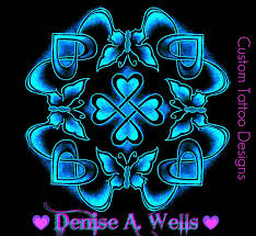 celtic butterfly design by a butterfly