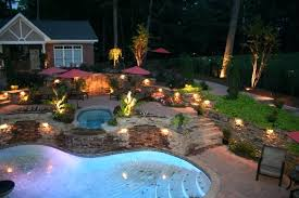 Outdoor Landscaping Lighting Light Pool Landscape Lighting