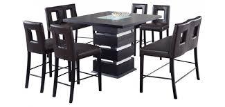 Bar Height Dining Chairs G072bt Modern Bar Height 5 Piece Dining Set