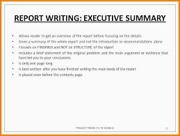 executive summary resume exles executive summary sle for mba project report c45ualwork999 org