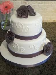 small wedding cakes small purple rose wedding cake wedding