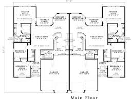 duplex plans with garage duplex house plan with garage stupendous