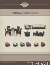 Patio Furniture Covers Canada - professional upmarket brochure design for raymond kostiuk by
