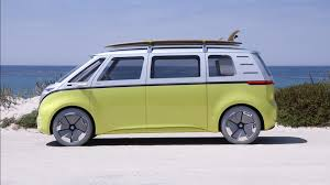 pink volkswagen van inside volkswagen u0027s electric concept bus is far out man cnn video