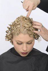 pin curl creating pin curls detailed steps