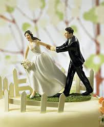 race to the altar couple figurine here u0027s the topper that is