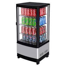 coca cola fridge glass door turbo air crt 77 1r diamond swing countertop display refrigerator