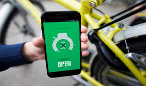 smart bike lock temporarily blocks calls while user is cycling