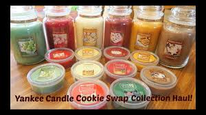yankee candle 2016 cookie collection haul