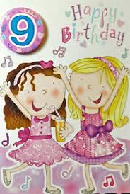 birthday cards for 9 years old good quality different