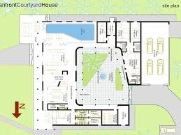 house plans with central courtyard design homes