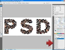 photo collage maker with psd file output feature