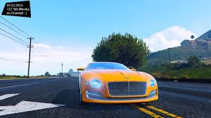 bentley exp 10 speed 6 bentley exp 10 speed 6 gta v mod enb 2 7k 1440p youtube