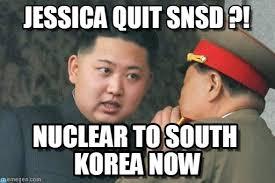 Snsd Memes - jessica quit snsd on memegen