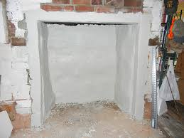 Parge Basement Walls by Saturday Morning Home Repair Restoring The Fireplace