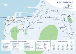 Spirit Route Map by Marathon 42 2km Sanlam Cape Town Marathon