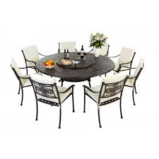 chic garden table chairs round patio table and chairs