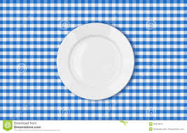 plate table top overhead view of food on a summer picnic table stock image image
