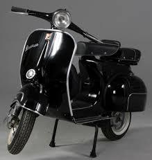 101 best black paint vintage vespa scooters images on pinterest