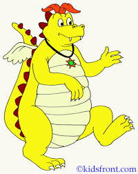 dragon tales coloring pages kids color print