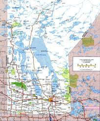 Map Of Canada Cities And Provinces by Highways And Roads Map Of Manitobafree Maps Of Canada