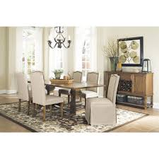 coaster furniture 103711 parkins dining table in coffee