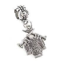 chamilia halloween beads amazon com antique pewter 3d knitting sweater charm bead for