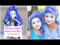 monster high sirena von boo halloween hairstyles ft