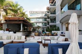thompson beach house playa del carmen cool hunting