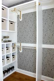 Curtains For Cupboard Doors Replacing Bi Fold Closet Doors With Curtains Our Closet Makeover